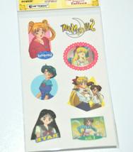 Sailor Moon temporary tattoos sticker vintage 2000 Artbox USA - $9.89