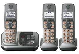 Panasonic KX-TG7733S Dect 6.0 Bluetooth Cordless Phone Answering System ... - $65.44