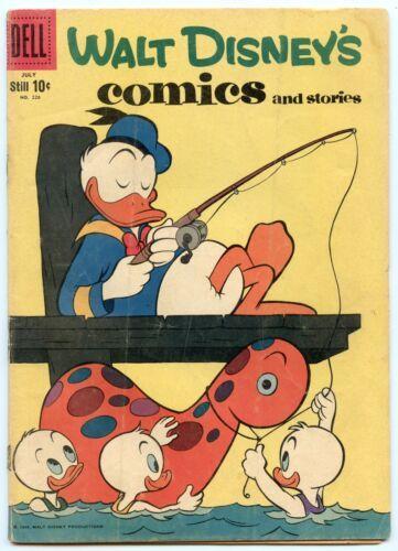 Walt Disney's Comics and Stories 226 Jul 1959 VG- (3.5)