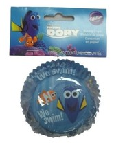 Finding Dory 50 Baking Cups Party Supplies Cupcake Liners Wilton - $2.81