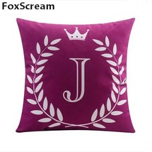 gray decorative pillows cases letter cushion cover home decor couch throw pillow cover thumb200