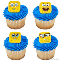 SPONGEBOB CupCake Cake Decoration Party Supplies Birthday 12 PCS Patrick... - $7.87