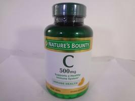 Nature's Bounty C 500 mg Immune Health 250 Tablets [VS-N] - $10.89