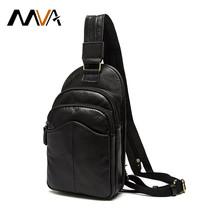 Cell Phone Waist Pack Genuine Leather Bag Men Handbag Men Messenger Bags... - $67.69