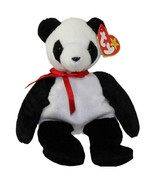 Fortune The Panda Bear Ty Beanie Baby Retired Mint Condition with Tags - $3.91
