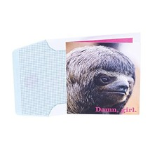 Hallmark Studio Ink Birthday Card, Anniversary Card Sloth