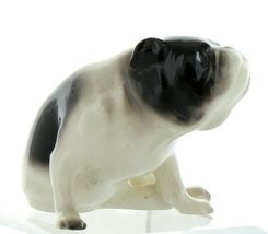 Hagen Renaker Pedigree Dog Bulldog Black and White Ceramic Figurine image 10