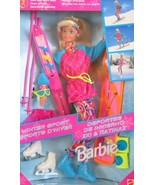 Winter Sport BARBIE Doll Set w Skis & MORE! (1994) - $74.99
