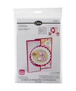 Sizzix Framelits Dies By Stephanie Barnard 20/Pkg, Circle #4 Flip-Its Card - $20.49