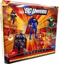 DC Universe Classics Crime Syndicate of Amerika Exclusive 5-Figure Set New - $219.73