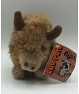 """Vintage 1979 Russ Luv Pets Cody Bison Buffalo 6"""" W/ Tags Caramel Brown S... - $24.74"""