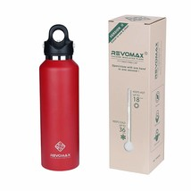 RevoMax V2 Twist-Free/No-Screw Vacuum Insulated Water Bottle -with One-C... - $701,75 MXN