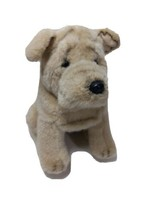 Russ Berrie1988 Pugsley Plush Stuffed Animal Toy Dog Puppy Pug Cross 6 - $39.19