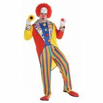 Clown Costume Adult  Standard Suit Funny Halloween Fancy Dress - $39.59