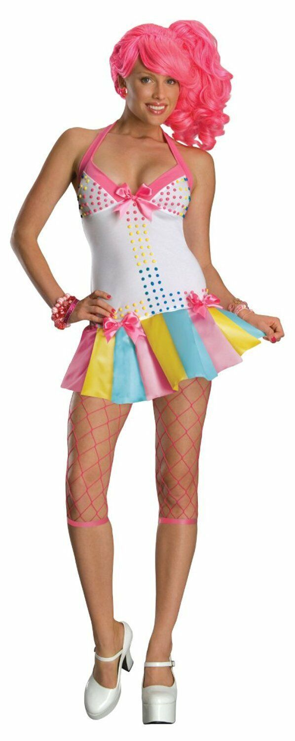Secret Wishes Sexy Candy Girl Ravers Emo Dancer Costume NIP
