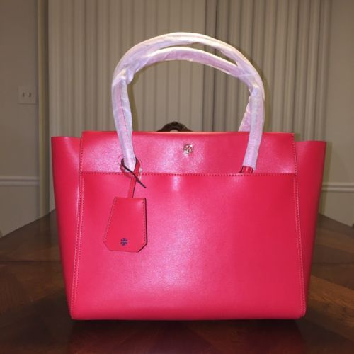 50eaafc0479 NWT Tory Burch Parker Large Tote in Cherry and 50 similar items
