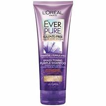 L'Oreal Paris Hair Care EverPure Sulfate Free Brass Toning Purple Shampo... - $9.22