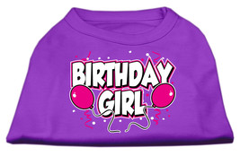 Birthday Girl Screen Print Shirts Purple XXXL (20) - $11.98