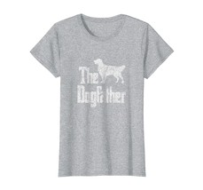 Dog Fashion - The Dogfather t-shirt Golden Retriever silhouette dog gift... - $19.95+