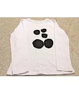 Girl's Kiki Riki White/Black Long Sleeve Pull-Over Top (M) - $13.10