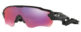 Authentic Oakley Radar Pace Black Polarized Prizm Road/Clear [OO9333-01] - $537.99