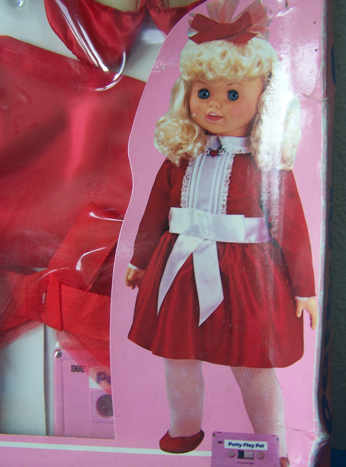 "Primary image for   24""  PRETTY PARTY DRESS fits most 24"" Dolls   NRFB but box is worn..."