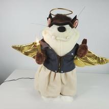 "Vintage 90s Warner Bros Studio Taz Biker Anger Animated Christmas Figure 18"" - $138.57"