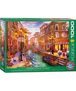 EuroGraphics (EURHR Venetian Romance 1000Piece Puzzle 1000Piece Jigsaw P... - $14.29