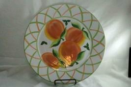 "Block Langenthal Peaches Round  Platter 13"" - $17.32"