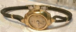 Vintage Grant  Women's Watch - Original Braided Cloth Band image 3