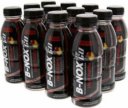 Betancourt | B-NOX Pre-Workout, Ready to Drink | Fruit Punch, 12/12oz - $29.65