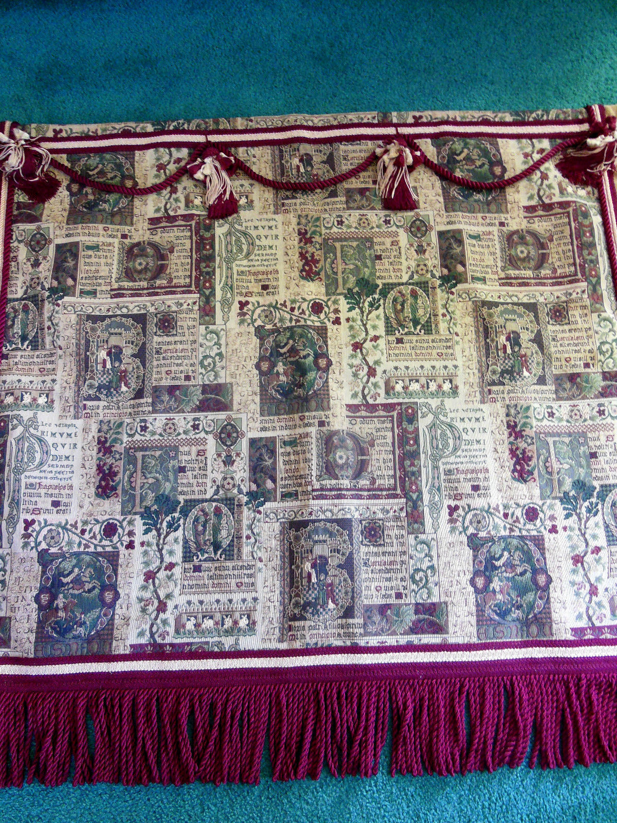 Vintage Heavy Tapestry Wall Hanging Italy And 50 Similar Items