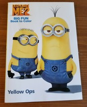 Despicable Me 2 Big Fun Book Coloring and Activity Children's Book - $3.48