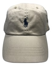 Polo Ralph Lauren Men's Baseball Hat With Pony.Beige.One Size.MSRP.$39.50 - $30.73