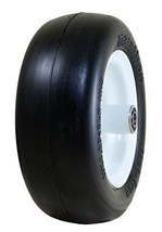 Lightweight Flat Free ZTR Mower Air Filled Tire And Solid Steel Wheel As... - $46.79