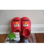 BNWT Crocs Boys Elmo Little Kid Faux Fur Clogs, Youth/junior sizes, $39.99 - $24.00