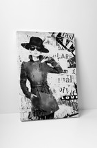 "Love in Black Fashion Art Gallery Wrapped Canvas Print. 30""x20"" or 20""x16"" - $42.52+"