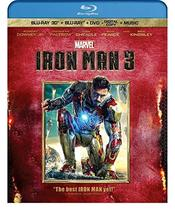 Iron Man 3 [3D + Blu-ray + DVD]