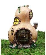 Ebros Gift Enchanted Fairy Garden Miniature Halloween Gourd Cottage Hous... - £19.74 GBP