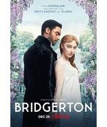 Bridgerton Poster Nextflix TV Series Phoebe Dynevor Rege-Jean Page Art P... - $10.90+