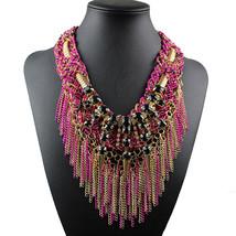 Kolye Latest Fine Jewelry Fashion Arrival Maxi Necklaces & Pendants Luxu... - $14.74