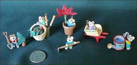 Hallmark Keepsake 1993 Tiny Green Thumbs Set of 6 Ornaments Christmas Mi... - $12.99