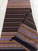 Rainbow Colour Indonesian Ikat, Flores Ikat, Picnic Blanket, Ikat Home D... - $200.00
