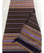 Rainbow Colour Indonesian Ikat, Flores Ikat, Picnic Blanket, Ikat Home Decor - $200.00