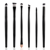 Type HB MAANGE 6Pcs Makeup Brushes Set Eye Brushes Set Eyeliner Eye A - $5.00