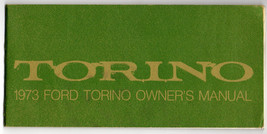 1973 FORD TORINO OWNER'S MANUAL-ORIGINAL GOOD CONDITION - $11.75