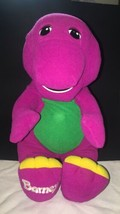 Talking Barney Plush 1996 Vintage Playskool Hasbro Barney 71245 Tested Works - $24.18