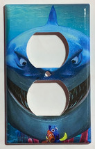 Finding Nemo, Dory & Shark Light Switch Power Outlet Cover Plate Home decor image 3