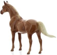 "Hagen-Renaker Miniature Ceramic Horse Figurine Thoroughbred ""Silky Sullivan"" image 7"
