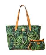 Dooney & Bourke Siesta Perfect Pair Large Zip Shopper Shoulder Bag Purse... - $239.00